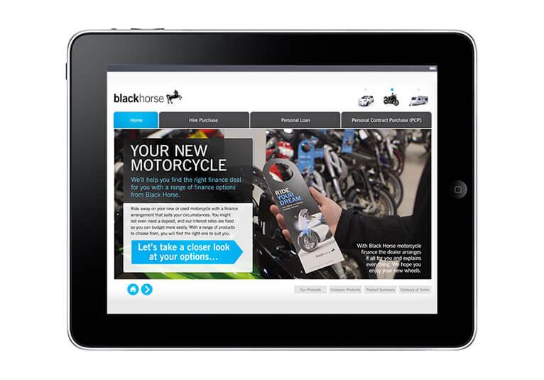 Black Horse Motorcycle Finance Calculator